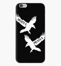 Huginn and Muninn iPhone Case