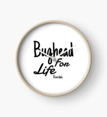 bughead for life Clock