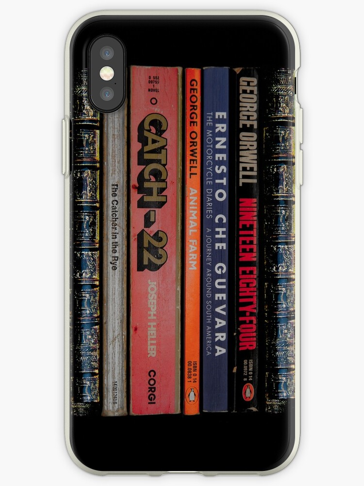 1984-The Motorcycle Diaries-Animal Farm-Catch 22 - iPhone Case by Bryan Freeman