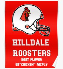 hilldale rooster Poster