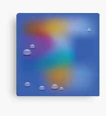 water drop background Canvas Print