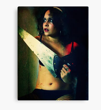 The Saw Canvas Print