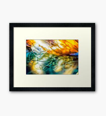 Thread of Light Framed Print