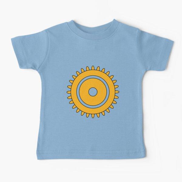 Brick Cog Gear  Camiseta para bebés