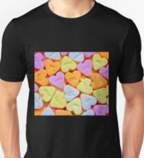 Sweets and candy - love hearts T-Shirt