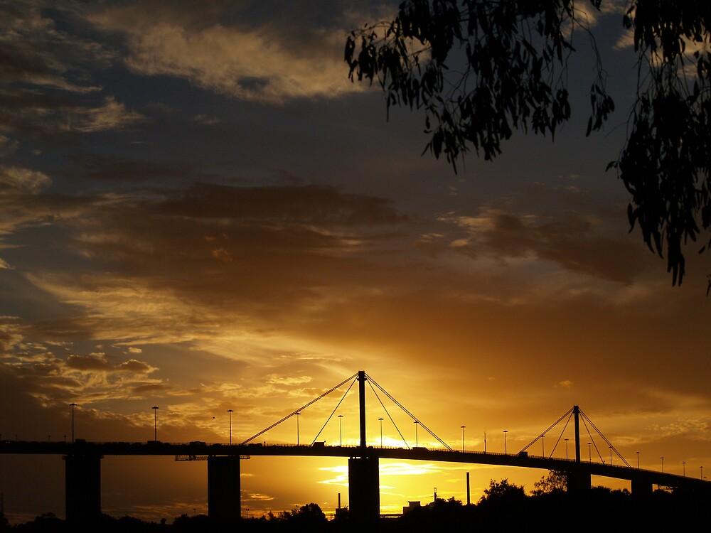 Westgate Bridge by focus