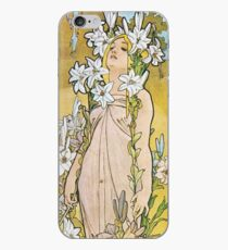 Alphonse Mucha - Lilie iPhone-Hülle & Cover