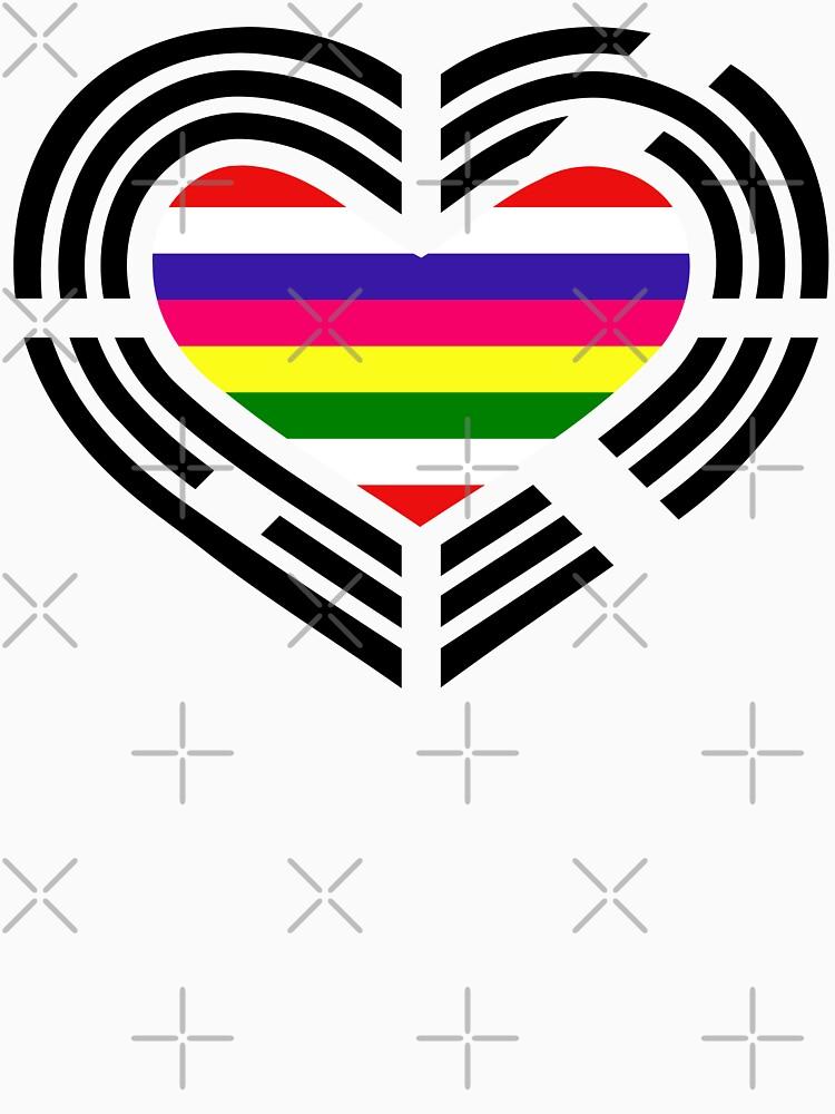 Korean Patriot Flag Series (Heart) by carbonfibreme