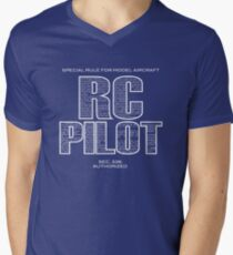 Special Rule For Model Aircraft - RC Pilots Men's V-Neck T-Shirt
