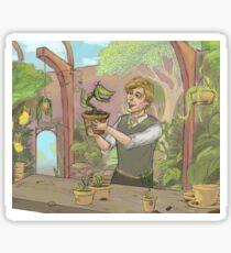 Newt Scamander- hufflepuff Sticker
