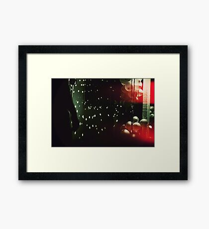 Dead Disco Framed Print