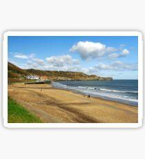 Sandsend Wyke, North Yorkshire Sticker