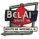 Route 66 Bel Air Drive In by rebeccaeilering