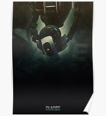 Heroes of Gaming - GlaDOS Poster