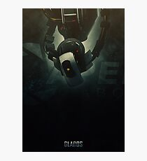 Heroes of Gaming - GlaDOS Photographic Print