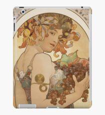 Alphonse Mucha - Fruit 1897 iPad Case/Skin