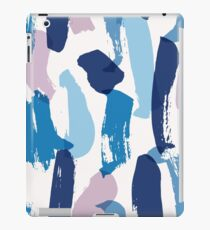 Colorful Abstract Brush Strokes iPad Case/Skin