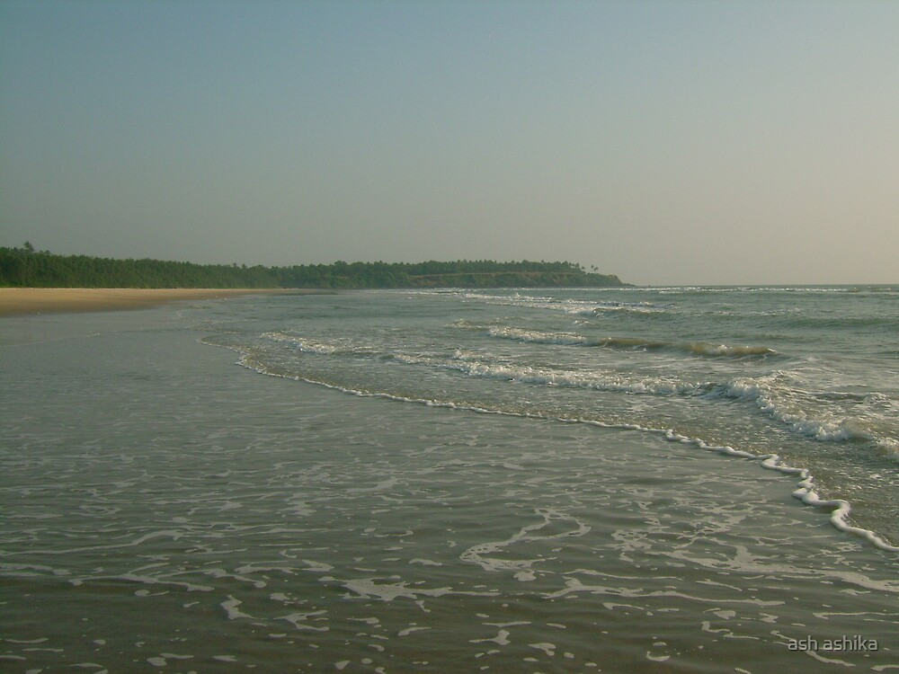 the beach by ash ashika