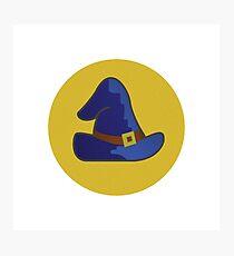 Magic Skill Icon Photographic Print