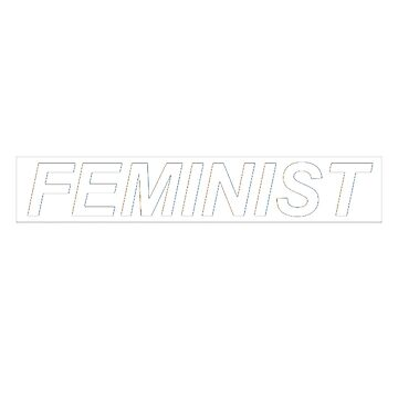 FEMINIST - Tee by WieskeV
