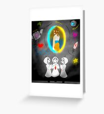 Can You Hear The Turrets Sing? Greeting Card