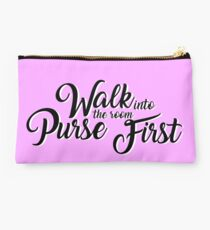 Walk into the Room Purse First Studio Pouch