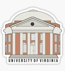 Rotunda - University of Virginia Sticker