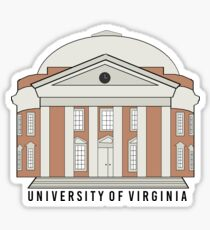 Rotunda - University of Virginia Sticker