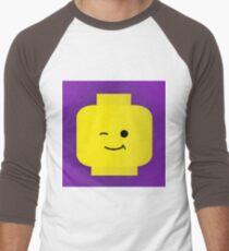 wink wink  Men's Baseball ¾ T-Shirt