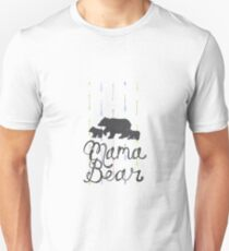Mama Bear with Cubs Unisex T-Shirt