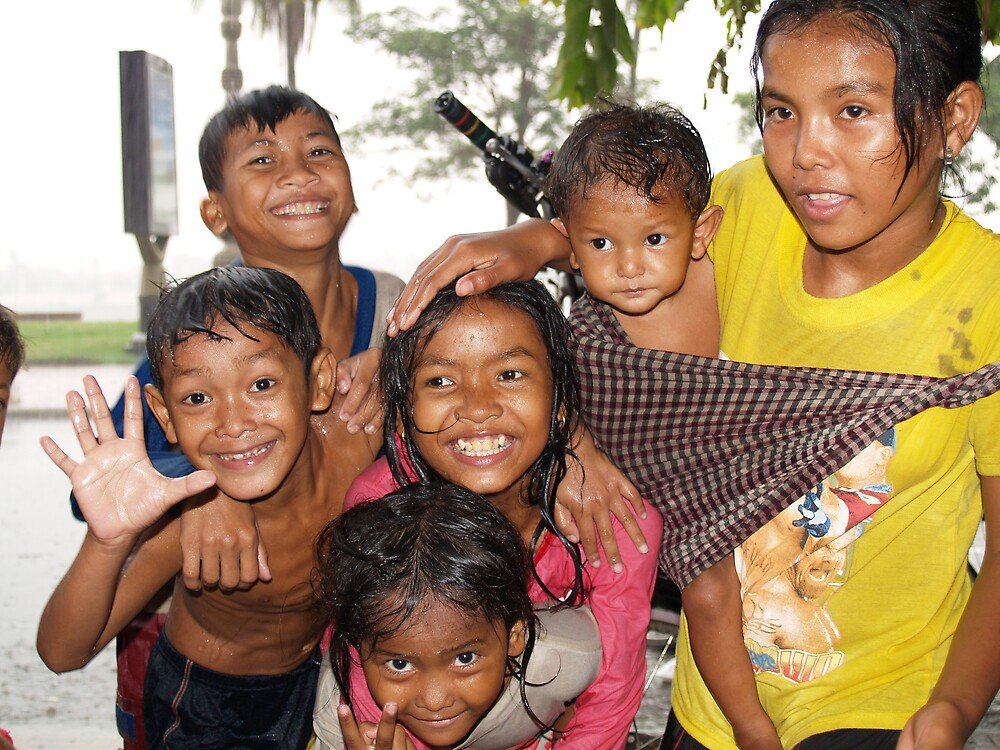Cambodian Kids 2 by focus