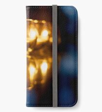 Candle light iPhone Wallet/Case/Skin