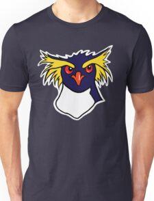 Grumpy Rockhopper Penguin Unisex T-Shirt