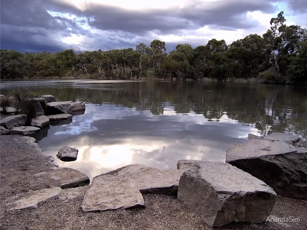 Dramatic View of Blackburn Lake by AnandaSim