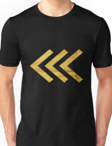 Arrows in Gold Unisex T-Shirt