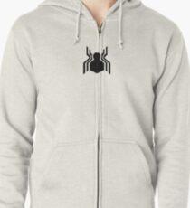 Spidey Symbol Zipped Hoodie
