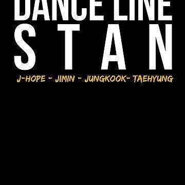 Dance Line Stan - Bangtan by sedapi