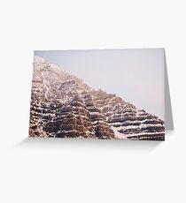 Moutains Greeting Card