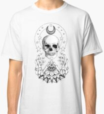 Power Skull Mandala Classic T-Shirt