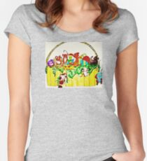MICE STEAL EASTER CANDY Women's Fitted Scoop T-Shirt