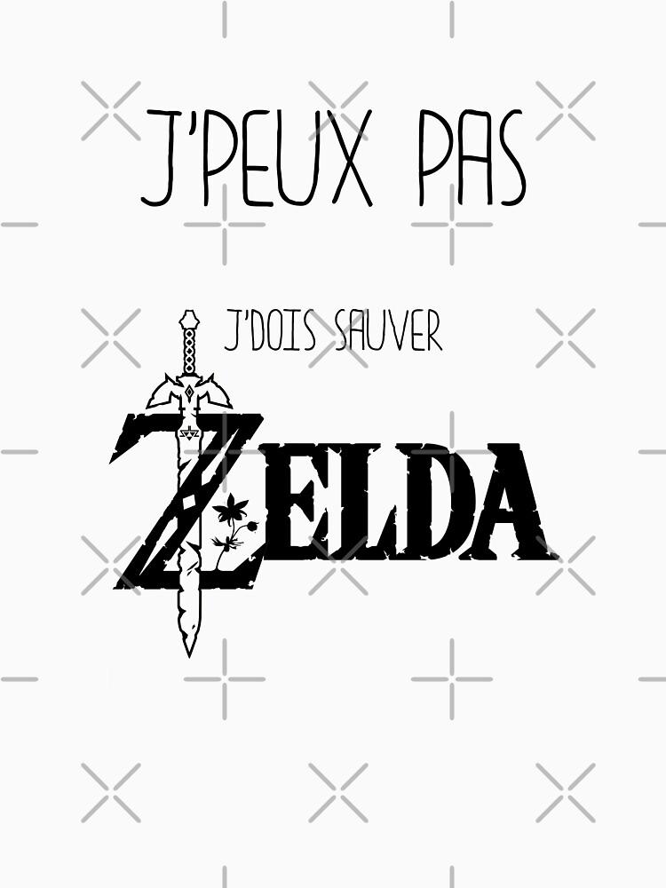 «J'peux pas j'dois sauver Zelda» par Timena