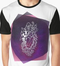 Super Magic Space Crystal Graphic T-Shirt