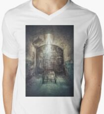 Solitude Of Confinement Mens V-Neck T-Shirt