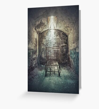 Solitude Of Confinement Greeting Card