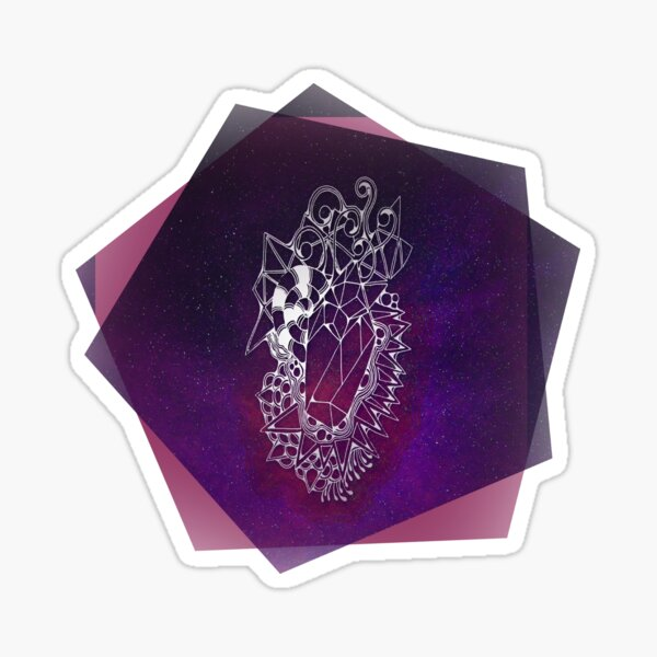 Super Magic Space Crystal Sticker