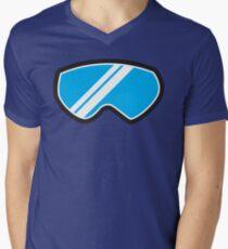 Snow goggles winter Men's V-Neck T-Shirt