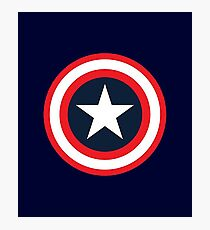 Captain America Photographic Print