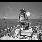 the fisherman... by Tony Middleton