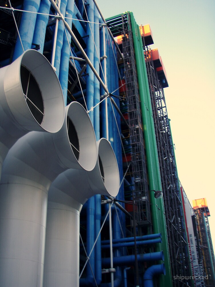 Centre Pompidou by shipwrecked