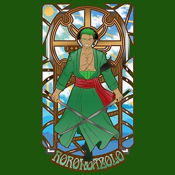 Swordsman of the Seas by JustJoshDesigns